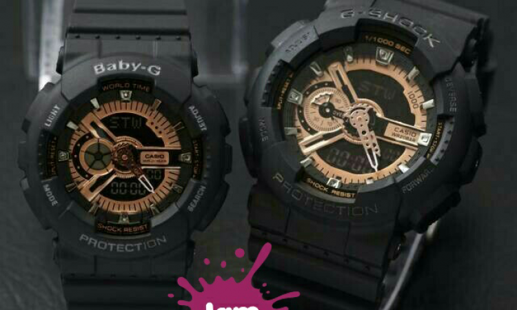 JAM tangan G-shock couple