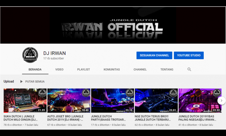 [WTS] Jual Channel YouTube udah di monetisasi 17K Subs