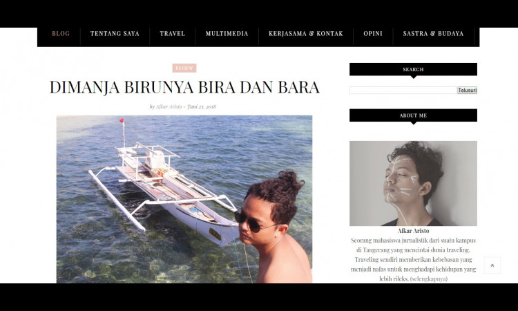 Traveling Pantai Tanjung Bira dan Bara