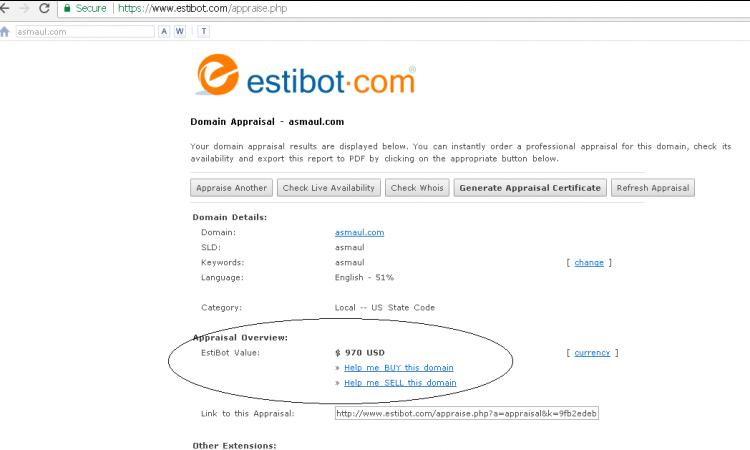 . (LELANG) Domain Premium : www.asmaul.com