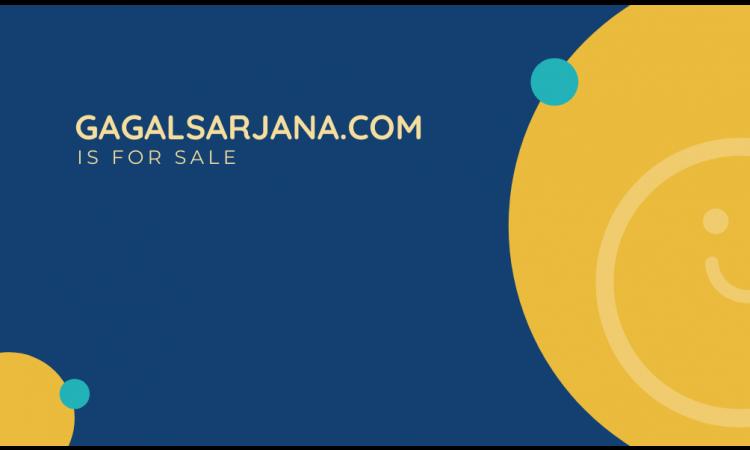 Domain Cantik dan Unik GagalSarjana.com