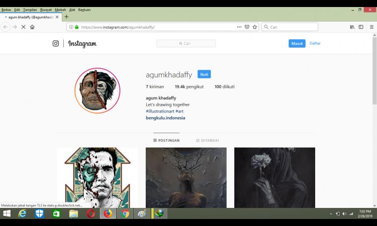 , (JUAL) Akun instagram/akun ig 19k