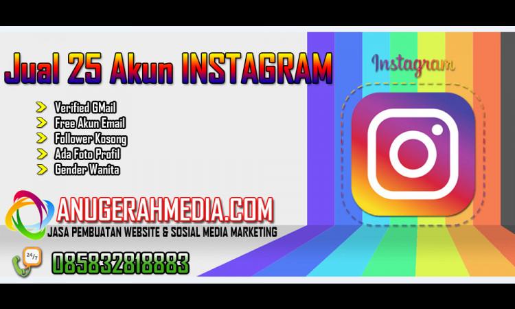 25 Akun Instagram Verif Gmail Ads Id Lelang Indonesia Internet Publishing Advertising And Marketing Community