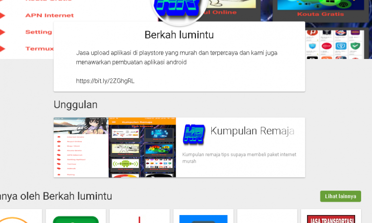 Jasa Upload Aplikasi Di Playstore Termurah