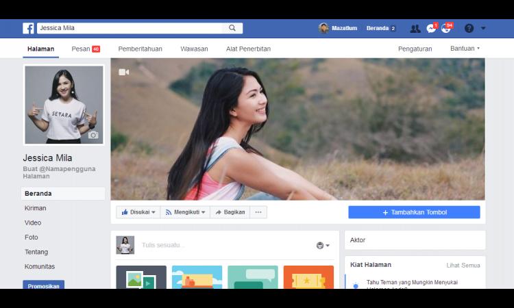 Fanspage Jessica Mila